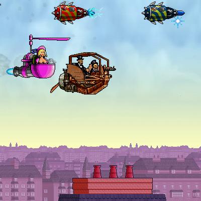 Гра Божевільна Літаюча Машина