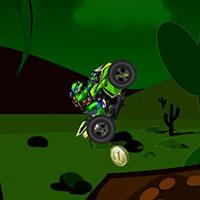 Гра Черепашки Ніндзя катаються на мотоциклі