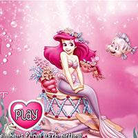 Гра Русалонька Аріель шукає скарби - грай безкоштовно в браузері!