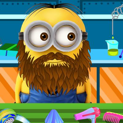 Гра Догляд за Миньонами: Голити Бороду