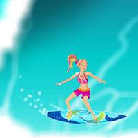 Гра Барбі русалонька: Катання на серфі