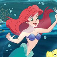 Гра Пригоди русалоньки: Русалонька піднімає скарби з дна
