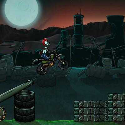 Гра Мотоцикли: Атомні Перегони з Зомбі