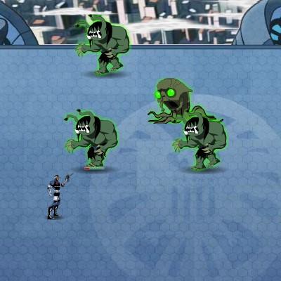 Гра Месники проти Радіоактивних Монстрів