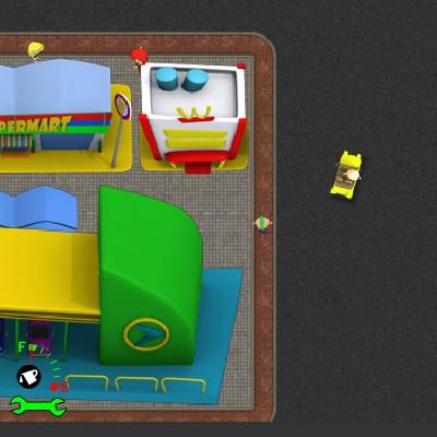 Гра на Час: Симулятор Таксі