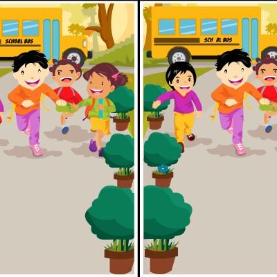 Гра на Час: Картинки Шкільного Автобуса