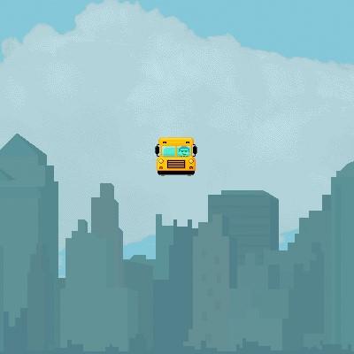 Гра на Спритність: Водій Автобуса Літаючого