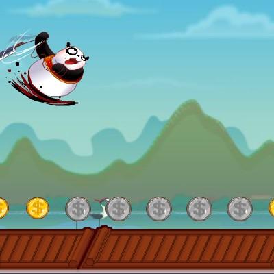 Гра на Спритність: Пробіжка Кунг Фу Панди