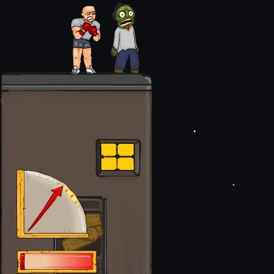 Гра на Спритність: Штовхнути Зомбі