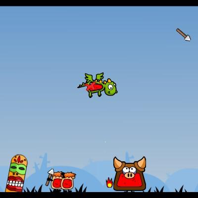 Гра на Спритність: Злий Літаючий Дракончик