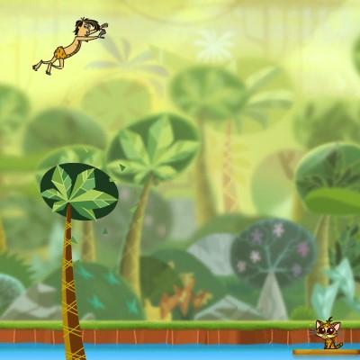 Гра на Спритність: Пригоди в Джунглях