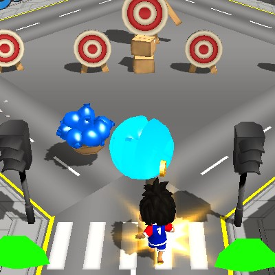 Гра на Спритність: Кульки з Водою