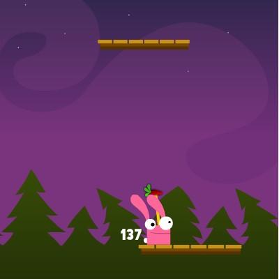 Гра на Спритність: Кролик Альпініст