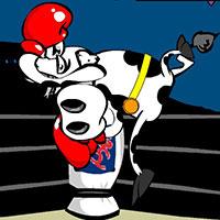 Гра Супер корова: Бокс