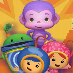 Гра Вчимо Англійську: Умизуми Фіолетова Мавпочка