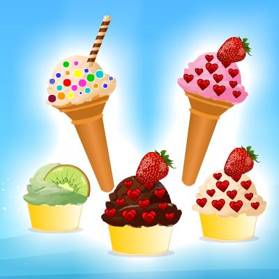 Гра про Обслуговування: Приготування та Продаж Морозива