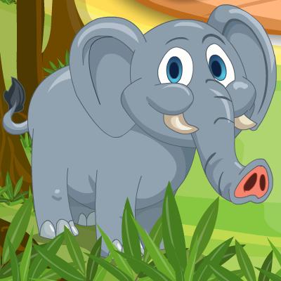 Гра Обслуговування Тварин: Нагодувати Слоника