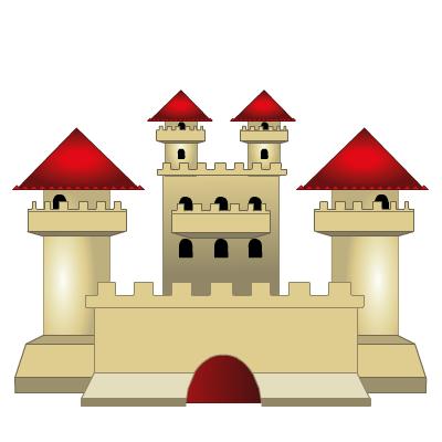 Гра Пазли: Зібрати Замок