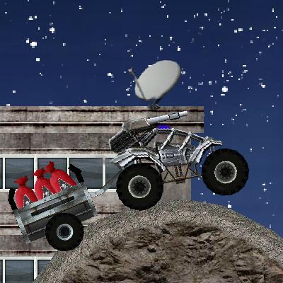 Гра Перевезення Секретних Вантажів: Місячна Поліція