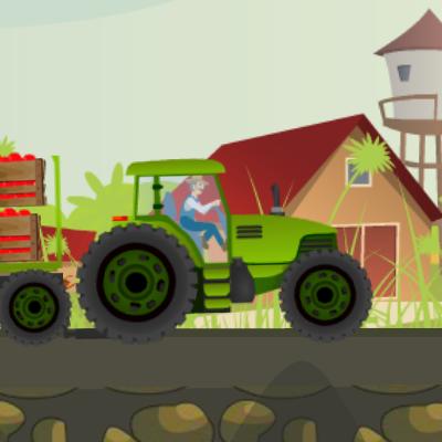 Гра Перевезення на Тракторі Фермера Теда