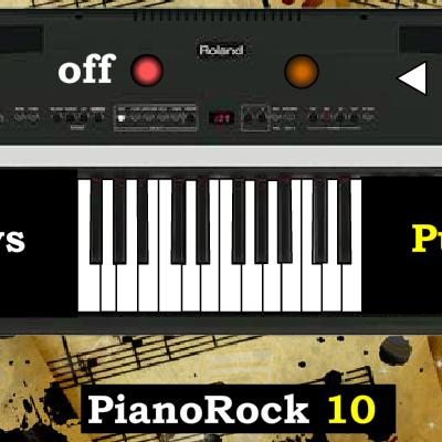 Гра Піаніно: Стиль Рок