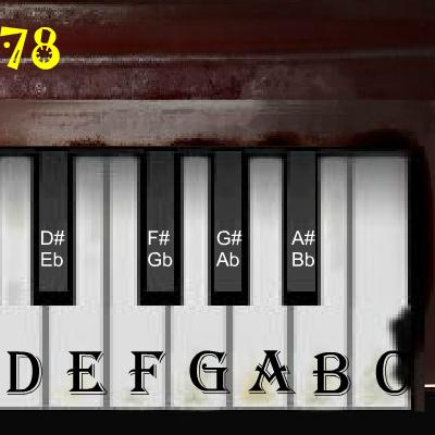 Гра Віртуальне Піаніно Флеш
