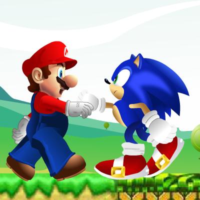 Гра Платформер: Маріо і Соник