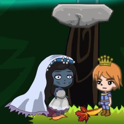 Гра Платформер: Принц Рятує Мертву Принцесу