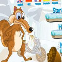 Гра Льодовиковий період: Гонитва за горіхами