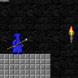 Гра Платформер: Посох з Пікселів