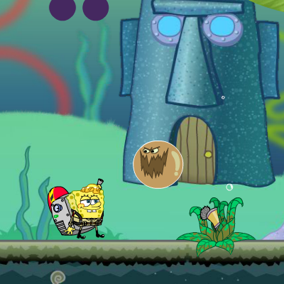 Гра Підводний Світ: Спанч Боб і Брудні Бульбашки