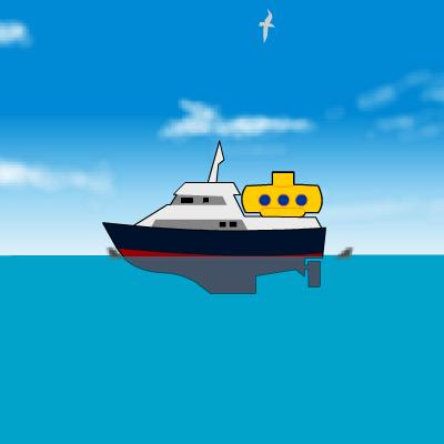 Гра Підводний Світ: Підводний Човен і Скарби