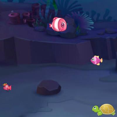 Гра Підводний Світ: Риби Їдять Рибок