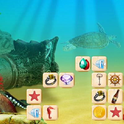Гра Підводний Маджонг