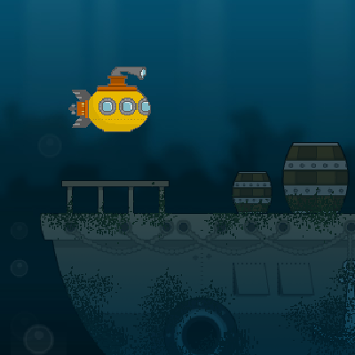 Гра Підводний Світ: Потопаюча Підводний Човен