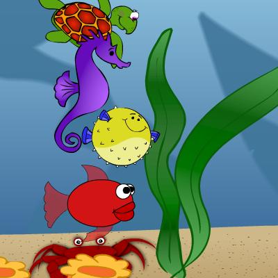 Гра Підводний Світ: Математична Гонка
