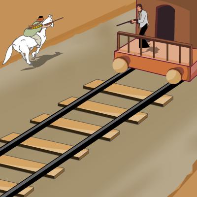 Гра Перестрілка на Поїзді: