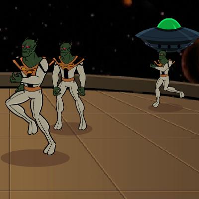 Гра Бластер проти Прибульців