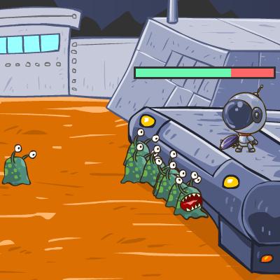 Гра Захист від Бази Прибульців