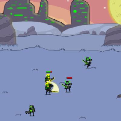 Гра Захист Планети від Вторгнення Прибульців