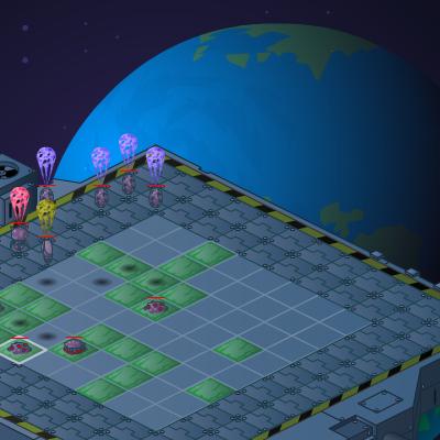 Гра Захист Космічної Станції від Прибульців