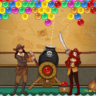 Гра Бульбашки Піратів