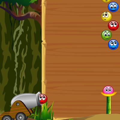 Гра Бульбашки: М'ячики з Очима