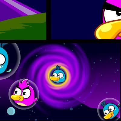 Гра Стрільба з Космічної Гармати Злими Птахами