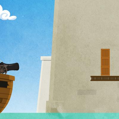 Гра Стрілянина з Гармати Піратів