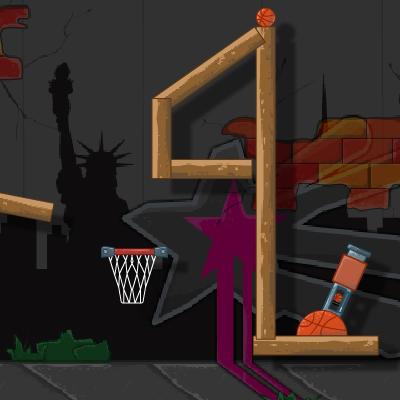 Гра Стрілялка з Гармати Баскетбольними М'ячами