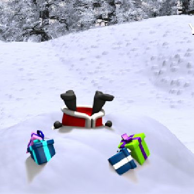 Гра Запуск Санта Клауса з Гармати