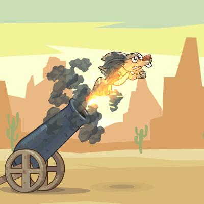 Гра Гармата: Запуск Зайця