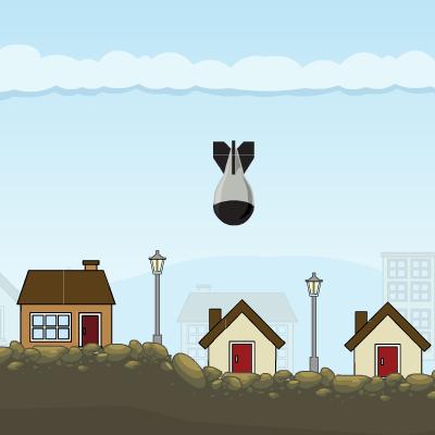 Гра Руйнування: Сбрость Бомбу на Місто