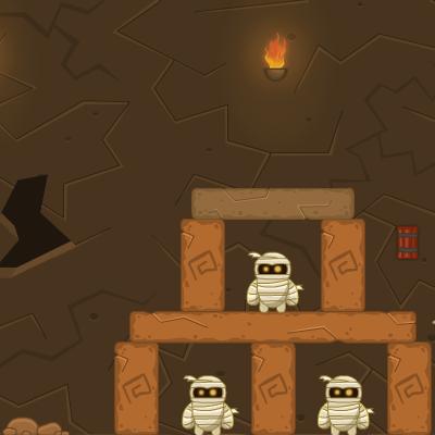 Гра Руйнування: Бластер для Мумій